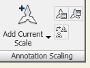AutoCAD lite provides automatic scaling of annotations in 2D CAD drawings.